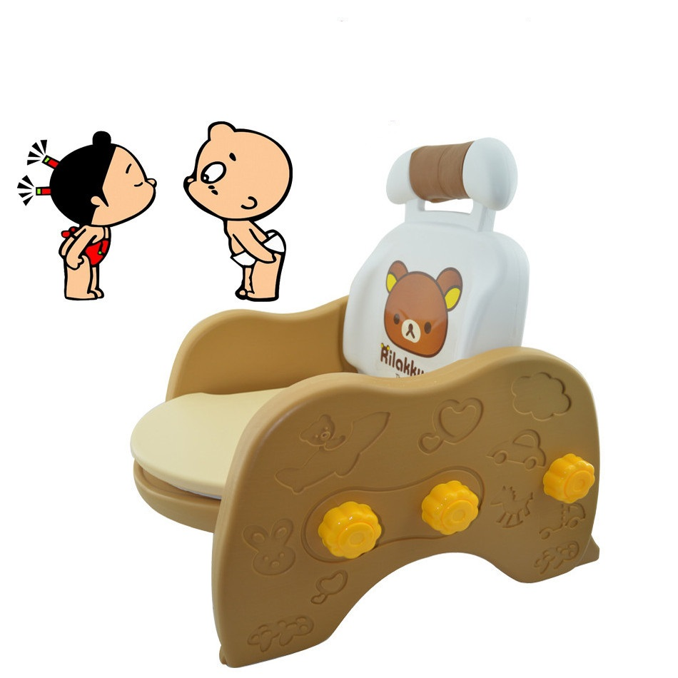nordic style kids decoration Potty Kids Chair Kids Foldable Anti-skid Toilet Seat Trainer Infant Non-slip Safety Sofa Seat