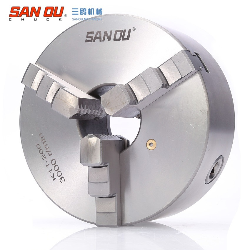 K11-130 Manual Lathe Chuck/3-Jaw 130MM Self-centering Chuck high quality hot sale k11 130 chuck