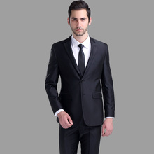Costume Homme Flat Real New Polyester Wool Wedding Suits For Men 2016 Men's Business And Leisure Suit Cultivate One's Morality