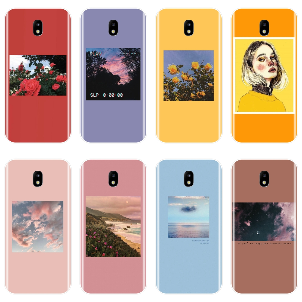 Girl Red Phone Case Silicone For Samsung Galaxy J4 J6 J8 Plus 2018 J2 J5 J7 Prime Back Cover For Samsung J3 J5 J7 2015 2016 2017 image