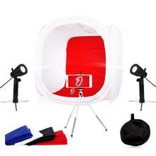 Photo Studio Soft box Kit Photography Lighting kit Led Light Tent  40 x 40CM, 50 50CM,60 60CM, 80x 80CM Free Gift