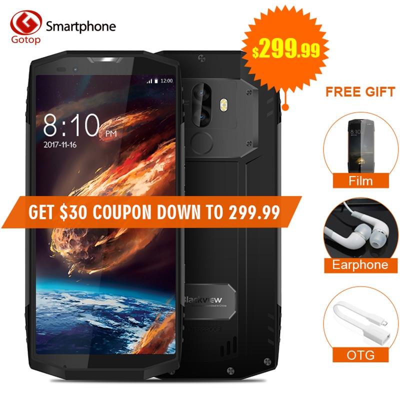 Blackview BV9000 Pro Étanche 5.7 18:9 Smartphone Android 7.1 MTK6757CD Octa Core Cellulaire Téléphone 6 gb RAM 128 gb ROM Mobile Téléphone