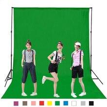 Free tax to Russia 160X100CM Green screen cotton Muslin background Photography backdrop lighting studio Chromakey