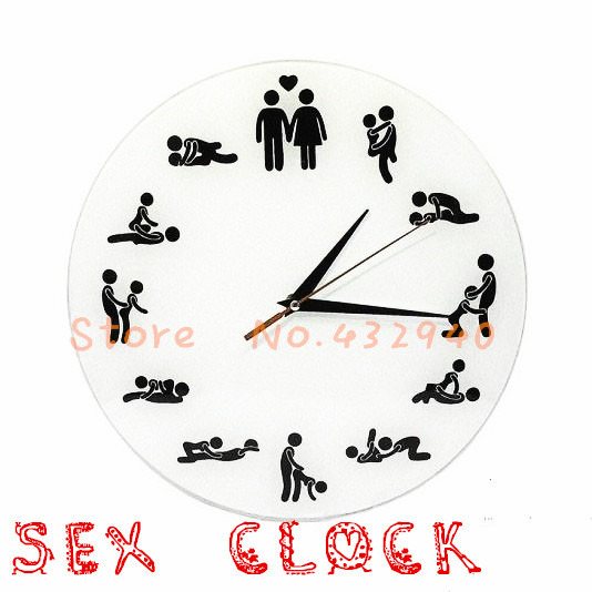 Free Shipping The Clock Of Y Wall Funny Clocks Home