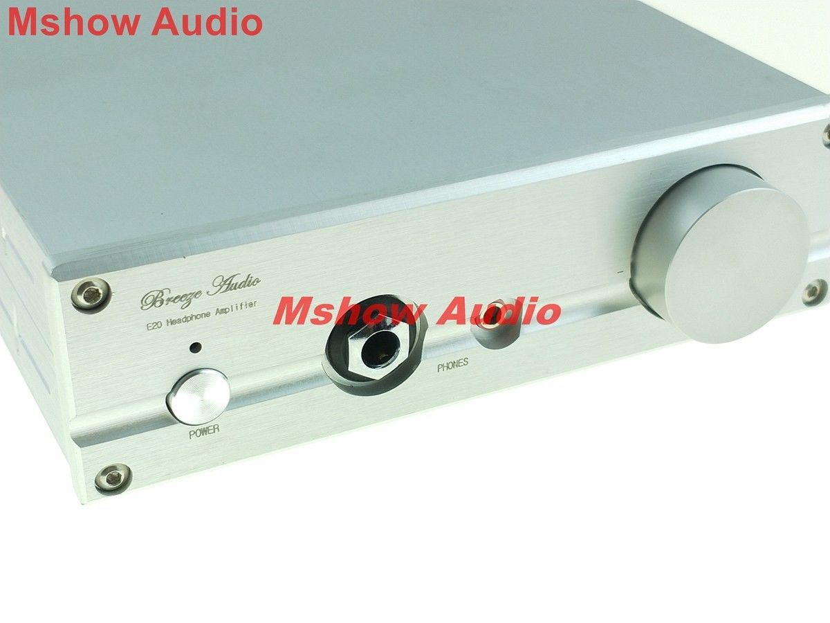 цена HIFI Headphone amplifier Fully Discrete Class A preamp pre-amp Amplifier with DC protect