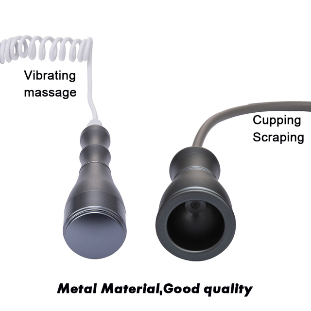 Electric Scraping Machine Gua Sha Ventosas Anti Cellulite Fat Burner Cupping Slim Massager Vibrating Meridian Dredge Instrument 4