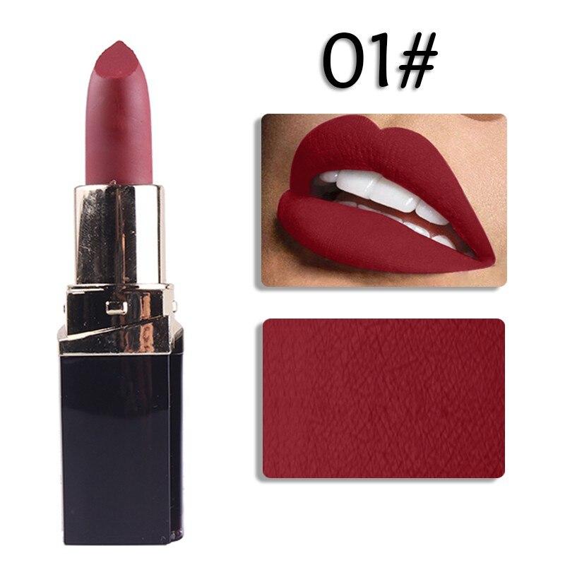 Fashion Women Lipstick 12Colors Matte Lipstick Lips Makeup