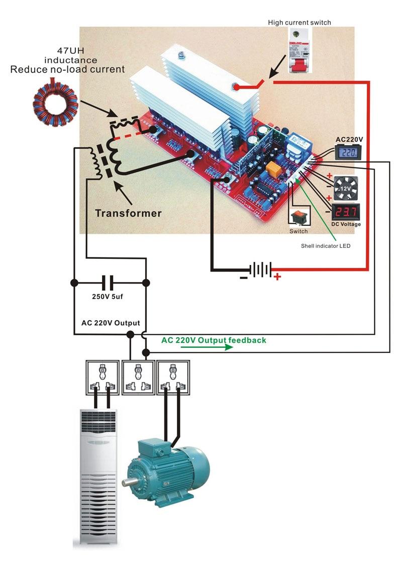 6500w Peak 13000w Dc12v 24v 36v 48v 60v To Ac 220v Sine Wave Delixi Air Circuit Breaker Cdw16300 China Manufacturer 12 1