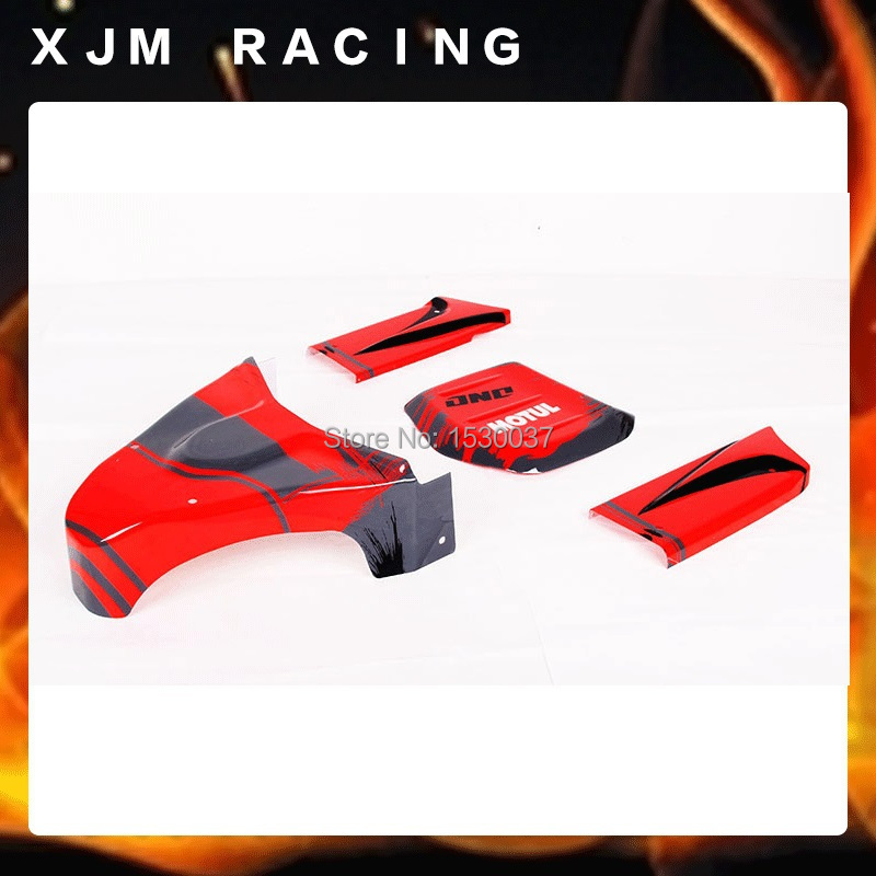 1/5 rc car Split Body Shell set fit HPI Rovan Baja 5T 5SC king motor truck Free shipping 1 5 rc car car shell kit fit hpi rovan baja ft parts