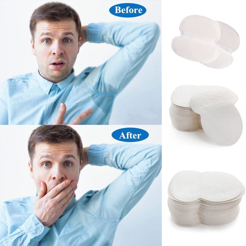 10/50pcs Armpits Sweat Pads For Underarm Gasket From Sweat Absorbing Pads For Armpits Linings Disposable Anti Sweat Stickers