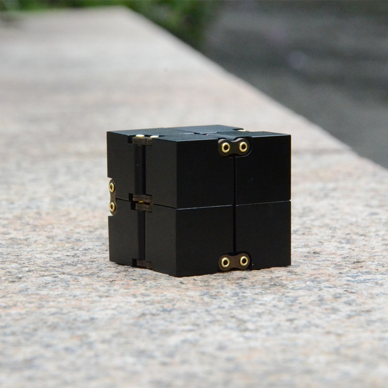 %name High Quality Metal Alloy Infinity Cube Fidget Cube Anti Stress