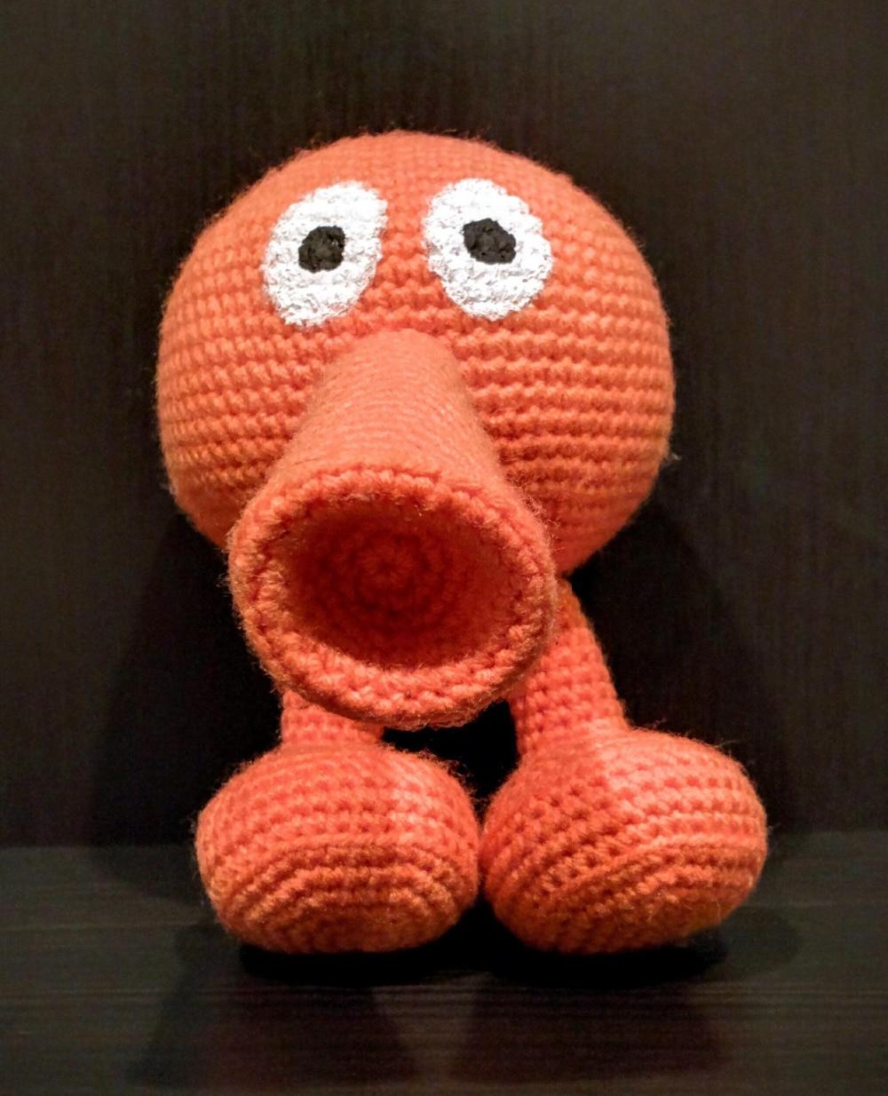 Crochet Toys  Amigurumi    Doll Qbert    Model  Number  SQ0022