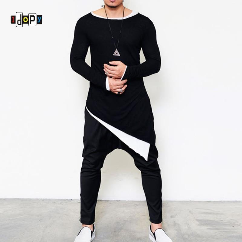 86f2d62d best top long shirt hip hop for men brands and get free shipping ...