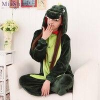 Adults Unicorn Pajamas All In One Pyjama Animal Dinosaur Panda Suit Cosplay Women Winter Cute Animal