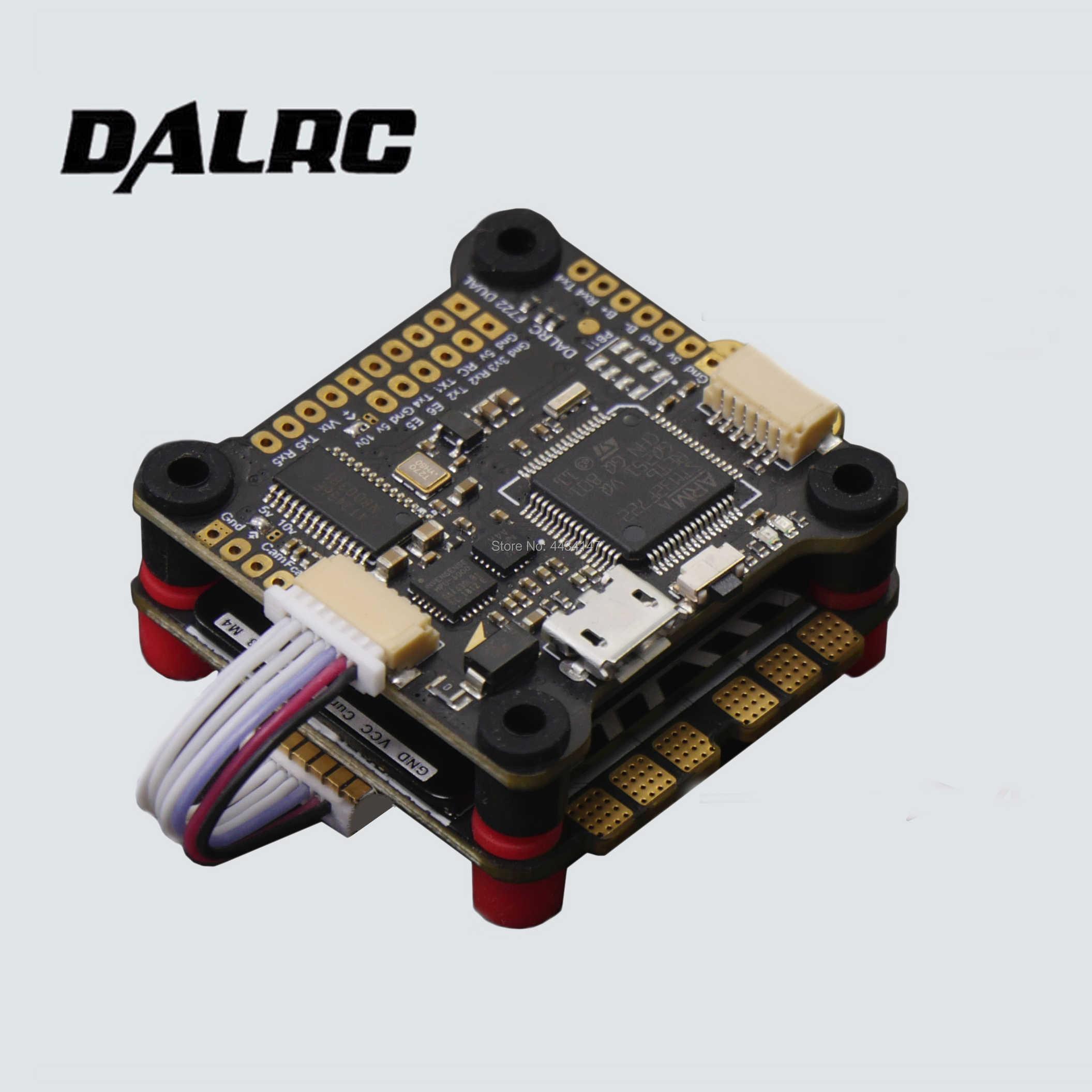 DALRC F722 DUAL STM32F722RGT6 Flight Controller Built-in OSD BEC 5V on