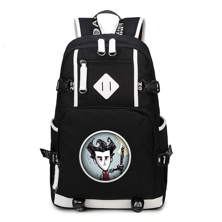 2019 adventure game Don t Starve Backpack Anime oxford men women Schoolbag Do Not Starve bag