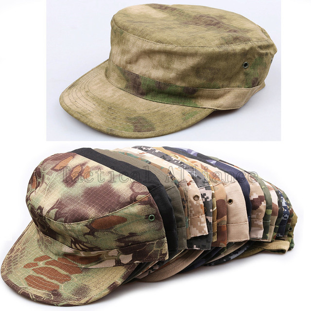 Tactical Flat Cap Men Military Hats Outdoor Camo Camouflage Caps Men s  Hunting Flat Hat Airsoft Paintball Shooting Sports Cap 9c6f179e757a