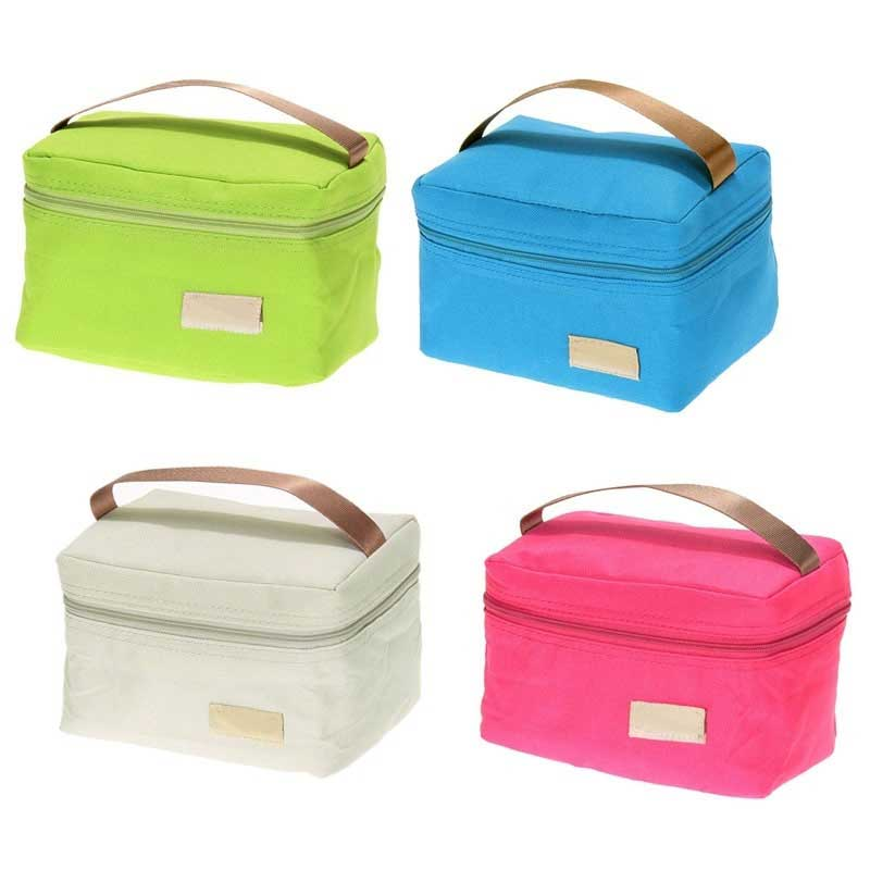 Travel Oxford Tinfoil Insulated Cooler Thermal Picnic Lunch Bag Waterproof Tote Lunch Bag for Kids Adult