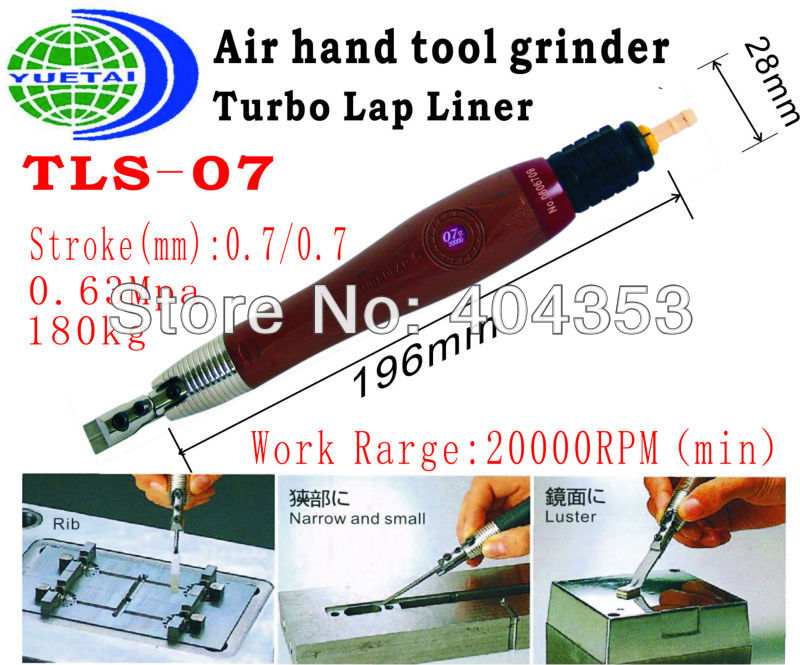 air micro grinder  Tool TLS07 (Free Speed :20,000RPM   Stroke:0.7mm ) mirco air grinder mag 122n 35 000rpm collet size 20mm 0 6mpa 140g