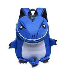 лучшая цена New Best Selling Cartoon Dinosaur Children Backpack Boys and Girls School Backpack 3-6 years Old Kindergarten Baby Bags CHIBELLE