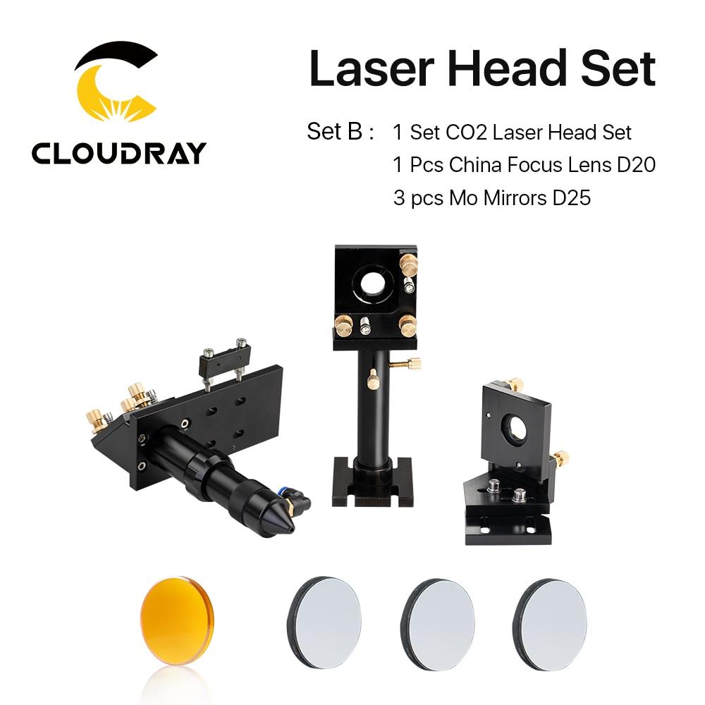 Kit de cabezales de láser de CO2 + 1 pieza Dia.20mm Lente de enfoque - Instrumentos de medición - foto 2