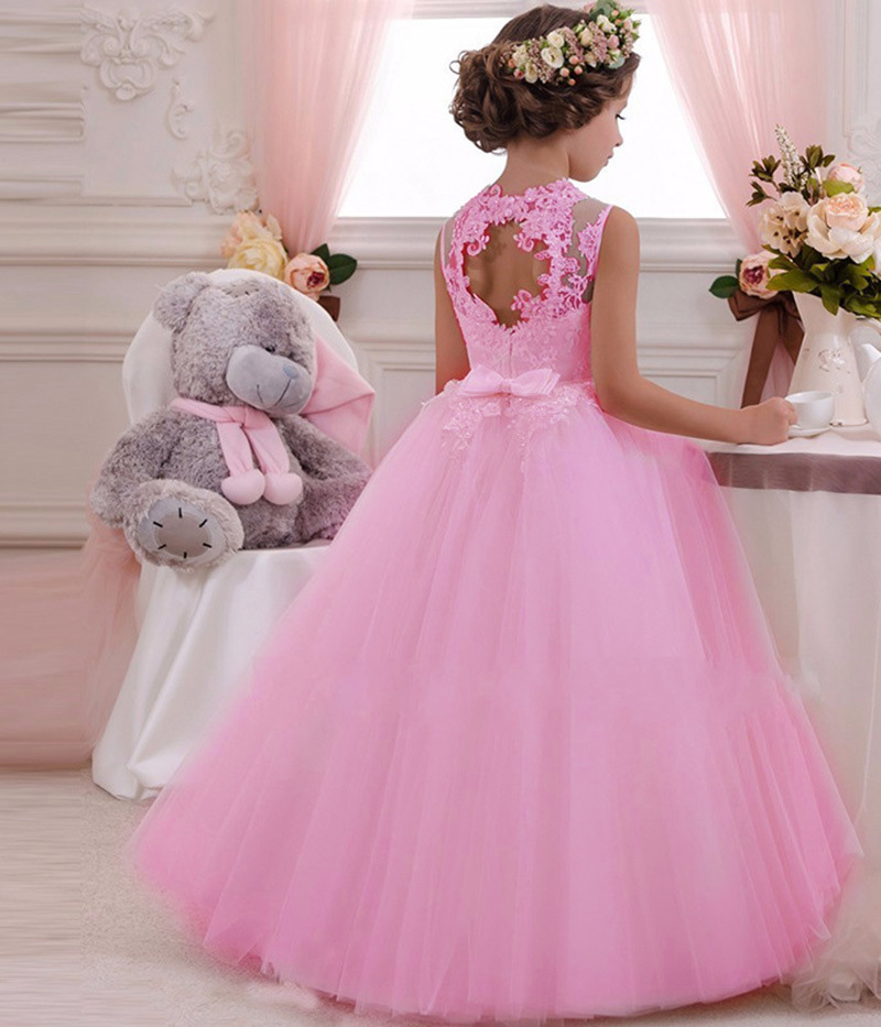 High-Quality-Party-Girls-Evening-Dress-Performance-Kids-Dresses-For-Girls-Carnival-Costume-Princess-Dresses-Girls