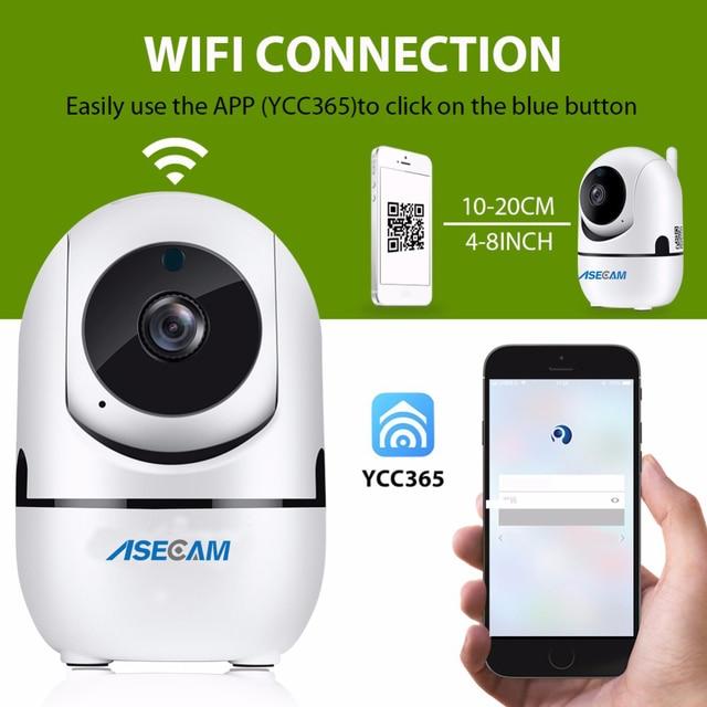 HD 1080P IP caméra nuage sans fil Intelligent Auto suivi humain maison réseau détection de mouvement Wifi Surveillance exterieur sans fil 3