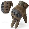 Tela sensível ao toque Luvas Armed Paintball Airsoft Militar Tático de Combate Esportes Ao Ar Livre Anti-Skid de Borracha Junta Luvas de Dedos Completos