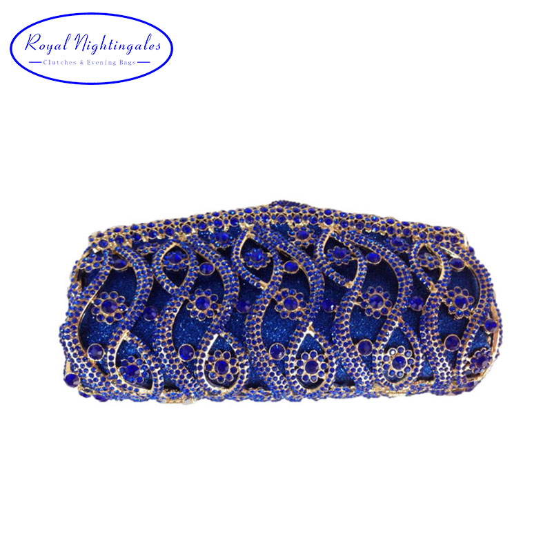 Africa Bridal Hard Case Metal Box Clutch Purse Night Clutch Bags for Women Wedding Prom Dinner Party Luxury Crystal Evening Bags blue women clutch crystal evening bags women rhinestone hard box clutch purse evening bags hard box cocktail wedding bag yls 32