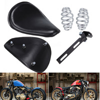 Fit Harley Sportster 883 1200 XL XL1200 XL883 Chopper Bobber Custom Motorcycle 12 9 4 Leather