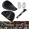 Fit Harley Sportster 883 1200 XL XL1200 XL883 Chopper Bobber Custom Motorcycle 12 9 4 Leather