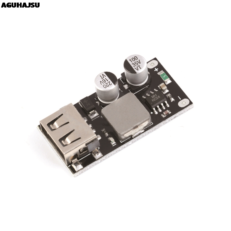 QC3.0 QC2.0 USB DC-DC Buck Converter Charging Step Down Module 6-32V 9V 12V 24V to Fast Quick Charger Circuit <font><b>Board</b></font> 3V <font><b>5V</b></font> 12V image