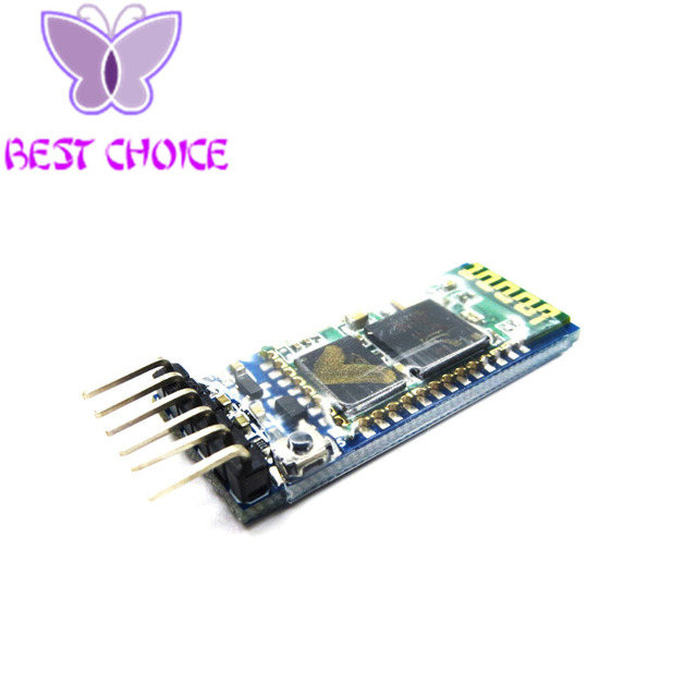 Бесплатная доставка HC05 HC-05 master-slave 6pin JY-MCU АНТИРЕВЕРСА, встроенный интерфейс Bluetooth модуль последовательной сквозной, беспроводной последовательный