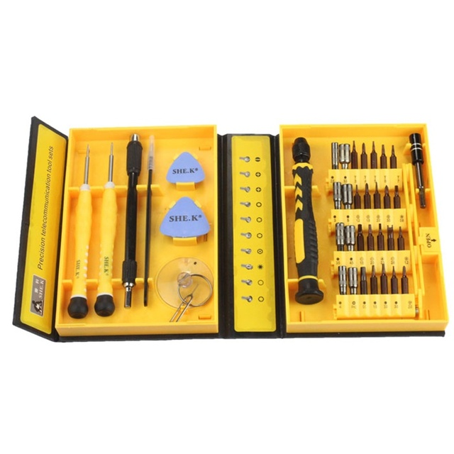 hot sale fashion new 38 in 1 Repair Tools Screwdriver Set For Smart Phone iPhone4 5s 6 Accessory the best good sale