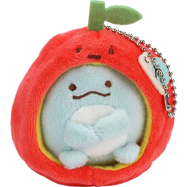 Плюшевые японские игрушки брелоки Sumikko Gurashi в ассортименте 1