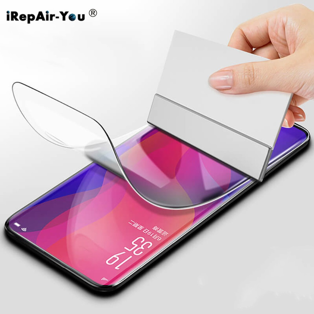 10D Soft TPU Hydrogel Film For OPPO Find X Reno 10 R15 R17 Pro RX17 Neo A3 A5 F5 F9 F7 Nano HD Full Cover Screen Protective Film