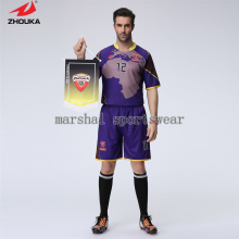2016 Newest design full sublimation custom 100% polyester soccer jersey for men