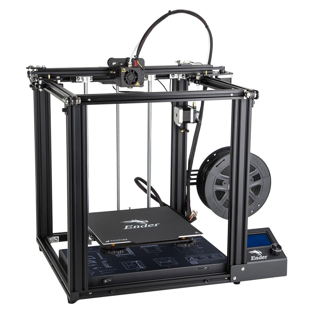 Date Creality 3D Imprimante Ender-5 Imprimante Avec Meanwell Puissance Stable Structure Fermée Et Hors Tension Reprendre Impression 220*200*300