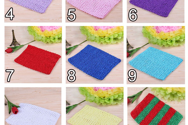FENGRISE X23cm Tulle Spool Tutu Crochet Chest Wrap Tube Tops Apparel Sewing Knit Fabric Girl Birthday Gifts Headbands Skirt 5