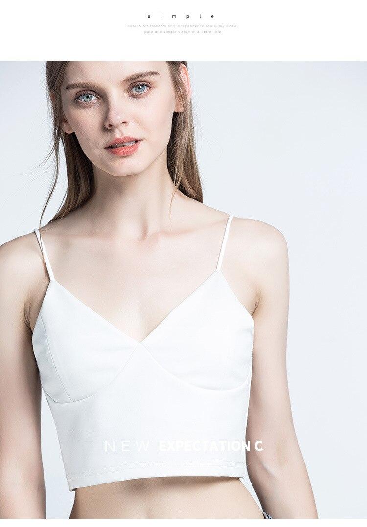 8865fd807d6a6 2019 Moda Jihan Women Tight Fit Tube Tops Crop Tops Cotton Bra ...