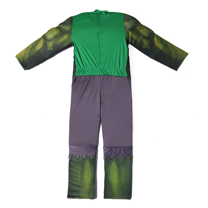 JYZCOS Kids Hulk Costume Halloween Costume Carnival Party Fancy Dress Boy Children Avengers Hulk Muscle Cosplay Clothing in Boys Costumes from Novelty Special Use