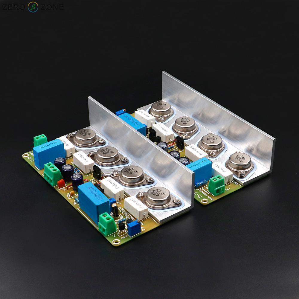 Assembeld HOOD JLH2003 Class A Single-ended Power Amplifier Board (2 CH) 10W+10W gzlozone pnp sanken a1216 jlh1969 single ended class a power amplifier kit 10w 10w