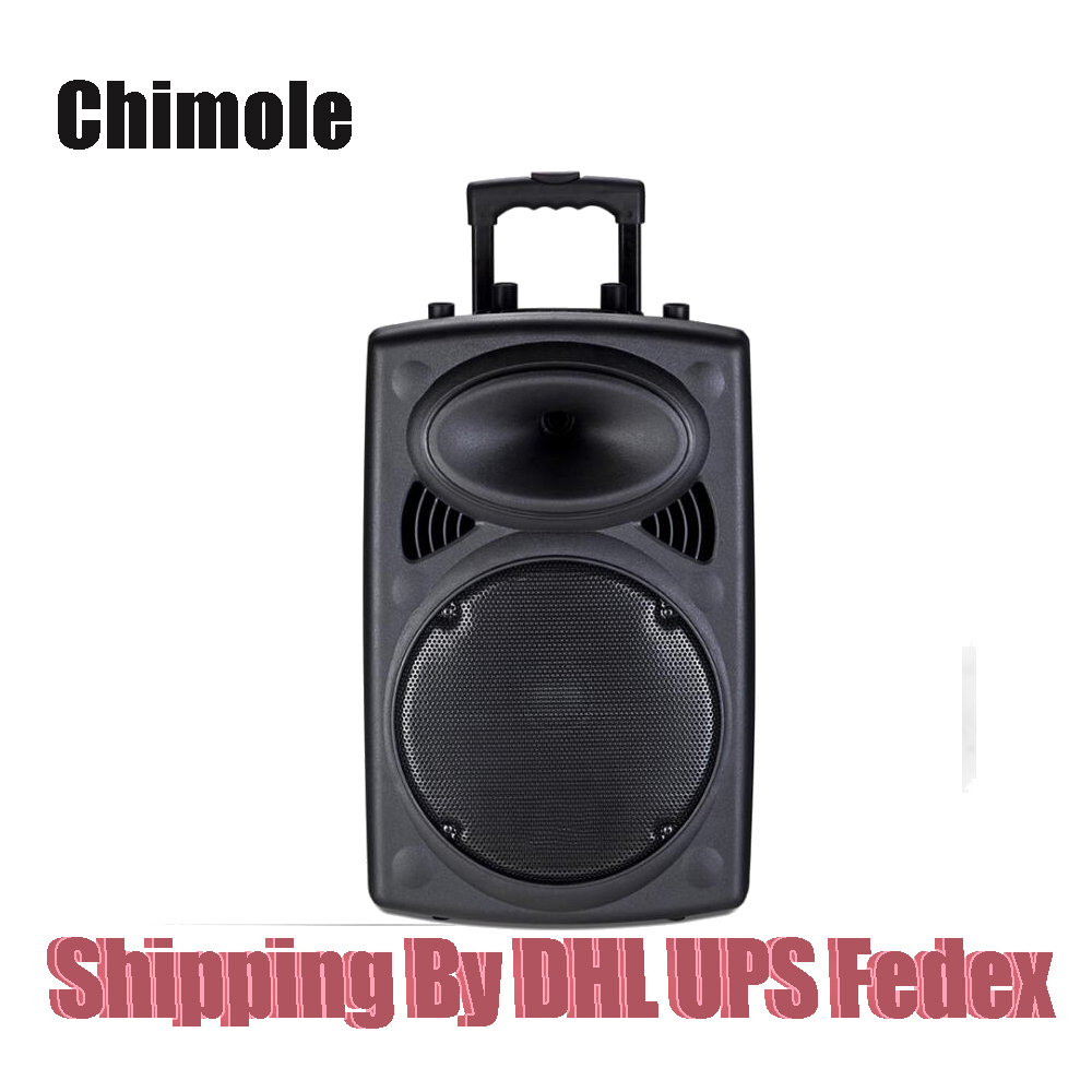 Outdoor Stereo 12-inch High-power Square Dance Card Portable Speaker Storage Battery Trolley Dancing Bluetooth Speaker