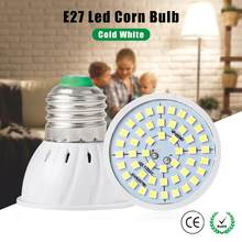 E27 E14 B22 MR16 GU10 LED Lamp Bulb 220V Spotlight Light Bulbs 48/60/80/126/200 Leds LED Corn Lamp Bulb SMD 2835 Spot Light(China)