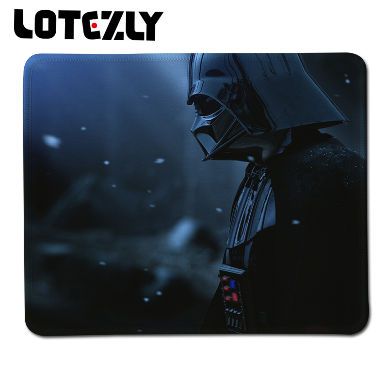 New Anti-Slip PC Laptop Notebook Mousemat Gaming Speed Up Lock Edge Mousepad Star Wars Print Rubber Mouse Pad Mice Mat