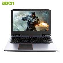 Bben G16 Игровые ноутбуки компьютеры 15.6 дюймов GTX1060 Intel Core i7 7700HQ DDR4 8 г/16 г/32 г Оперативная память 256 г/512 г SSD, 1 ТБ/2 ТБ HDD windows10