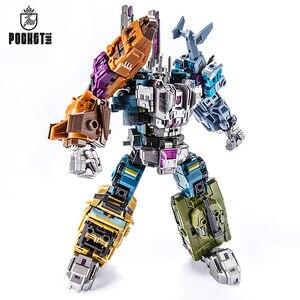 Image 2 - 27ซม.Transformation G1 PT05 Bruticusของเล่นพ็อกเก็ต5IN1 Action Figure Oversizeหุ่นยนต์ของเล่นG1 PT 05สำหรับเด็กของเล่นของขวัญ