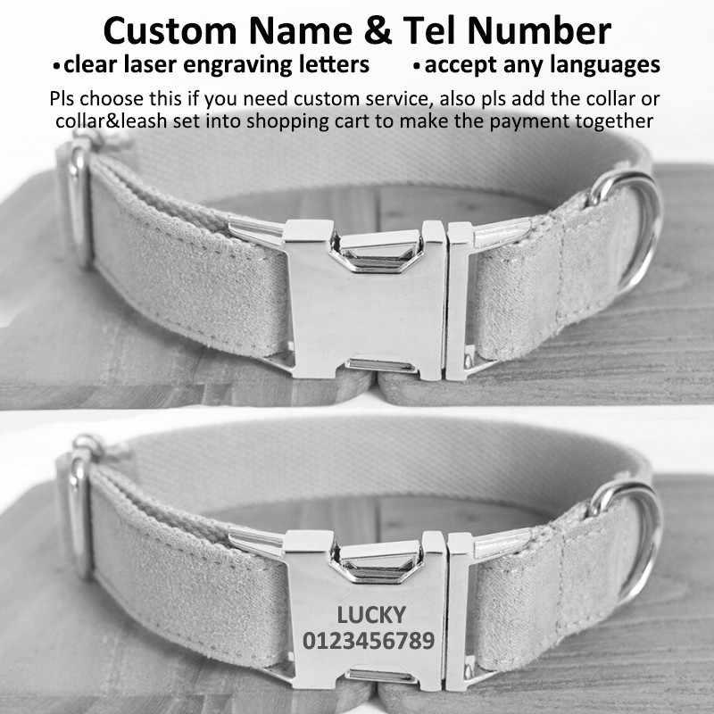 Chất Lượng cao Pet Cổ Áo cho Nhỏ Con Chó Lớn Handmade Dog Collars Phù Hợp Với Đám Cưới Botique Dog Collar và Leash Set Pitbull Chihuahua