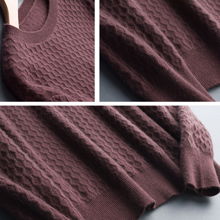Geniues Cashmere 100 Real Sweaters For Men Casual Men Long Sleeve Knitwear Autumn Winter Slim Fit Basic Pullover Tops