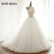 Rose Moda Princess Tulle Ball Gown 2019 Wedding Dress